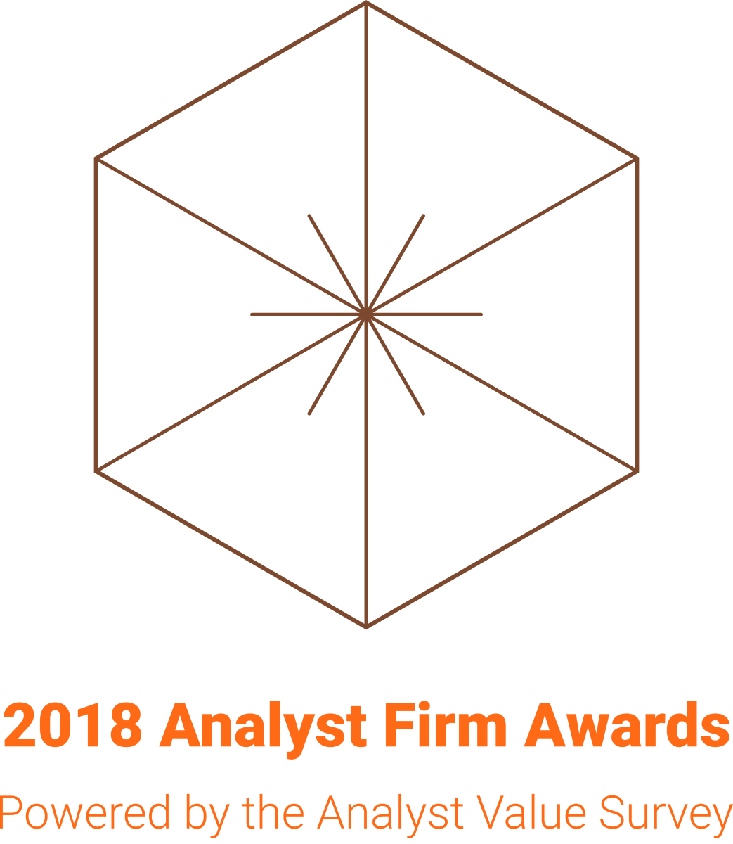 18 win 2018 Analyst Firm Awards